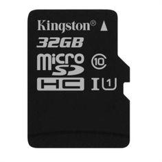 KINGSTON microSD Karte 32GB Klasse 10 UHS-I inkl. Adapter