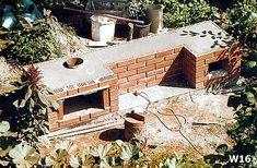 Od projektu, do wędzonek - czyli jak Wojtek Minor budował wędzarnię Smoke House Plans, Smoke House Diy, Barbacoa, Grill Oven, Solar, Backyard, Construction, House Styles, Garden