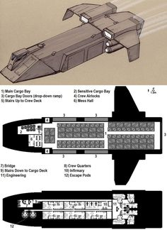 Dark Nova: Gockstadt Deckplans by Breandan-OCiarrai