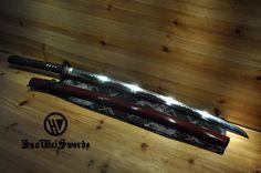Aliexpress.com : Hohe Qualität Shobu Zukuri Gefaltete Lehm Temperd Hishi Gami Japanischen Schwert Katana von verlässlichen katana bleach-Lieferanten auf huaweiforge kaufen