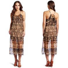 Free People Joie Brand Sheer Dress Beautiful sheer free flowing dress by Joie.  Purchased at Free People.  Amazing show-stopping dress for any occasion!  Bundle this item along with 2 or more items from my closet and save an extra 10% off!   Feel free to comment below if you have any questions :)  Thanks! Free People Dresses