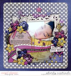 February 2017 SSD Bingo Challenge: #12 quote challenge Trio Pack 36: Goodnight Love template by Cindy Schneider  Twinkle twinkle: Bundle by Grace Lee