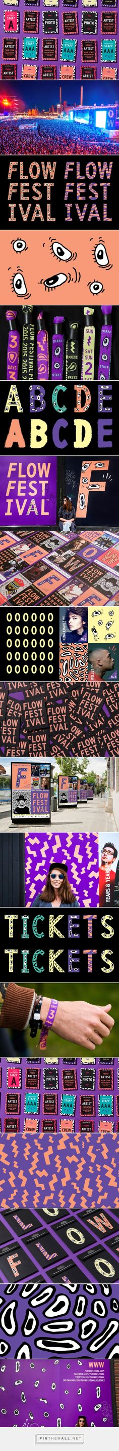 New Brand Identity for Flow Festival 2015 by Bond — BP&O - created via https://pinthemall.net