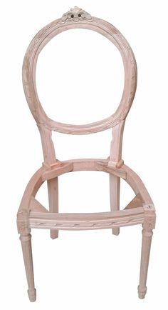 Estructuras / Esqueleto Sillas Luis Xvi Medallon Tallado - $ 4.100 ... Chair, Furniture, Home Decor, Wood, Skeletons, Lockets, Coat Stands, Style, Stool