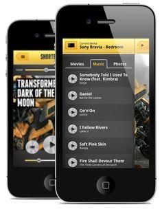 ShortBeam App by Maciej Mach, via Behance