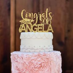 Hey, I found this really awesome Etsy listing at https://www.etsy.com/listing/275244192/cake-topper-graduation-cake-topper-class