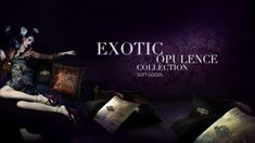 EXOTIC OPULENCE Soft Goods Collection by KOKET