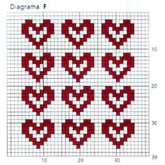 ВЯЗАНИЕ ДЛЯ СУМАСШЕДШИХ Cross Stitch Heart, Cross Stitch Alphabet, Cross Stitch Patterns, Knitting Charts, Knitting Stitches, Knitting Patterns, Christmas Towels, Square Patterns, Tapestry Crochet