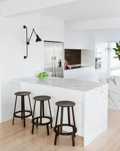 """9 Likes, 1 Comments - Your Home and Garden magazine (@yourhomeandgarden) on Instagram: """"Blonded tawa floors create a laidback, beachy vibe in the McDonalds' Tauranga home. See more of the…"""""""