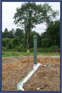 Ornavent Septic Vent Disguise Septic Vent Pipe Cover In