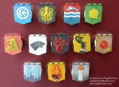 A Song of Cakes & Icing: Game of Thrones Cupcakes
