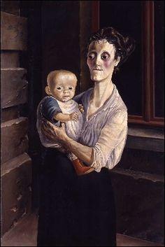 Frau mit Kind; 1921; Otto Dix
