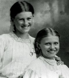 """Smiling Victorians"", late 1800's"