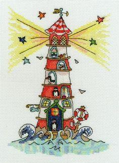 Sew Dinky Lighthouse