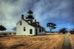 Point Pinos Lighthouse Monterey, California
