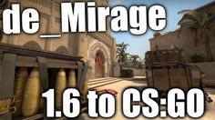 de_Mirage - from 1.6 to CS:GO - Map Development History #16 #games #globaloffensive #CSGO #counterstrike #hltv #CS #steam #Valve #djswat #CS16