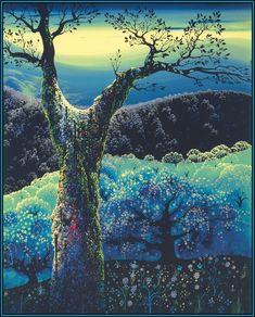 / orchard in bloom / eyvind earle /
