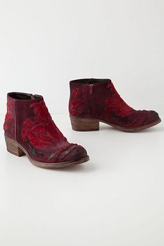 Miranda Booties - Anthropologie.com Why do I always want the most expensive ones?!