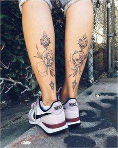 foot girl tattoos, wolf images tattoos, orchid back tattoo, tattoo snake arm, mountain tattoo sleeve Calve Tattoo, Tattoo Platzierung, Tattoo Life, 100 Tattoo, Tattoo Chart, Snake Tattoo, Lotus Tattoo, Tattoo Girls, Girl Back Tattoos