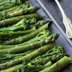 Tenderstem Broccoli and Asparagus