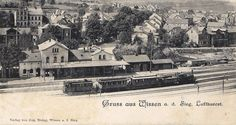 028 - Bahnhof und Personenzug 1903