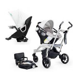 Orbit Baby Stroller Travel System G2 with Stroller Seat G2 Black Slate