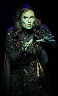 Elphaba Costume from Wicked the Musical Broadway Wicked, Broadway Theatre, Musical Theatre, Broadway Shows, Musicals Broadway, Theatre Geek, Theater, Theatre Quotes, Myra Ruiz