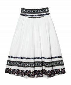 Suno      Embroidered Skirt, perfect for a summer music festival (pair it with a crop top!)