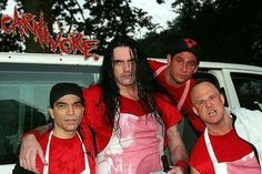 Peter Steele with Carnivore ❤