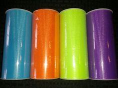 Turquoise, orange, apple and purple #tulle #deanascrafts #tutu #costume #cosplay #diy #decoration #tullewreath #craftsupplies