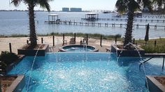 At the Heritage Motor Coach Resort in Orange Beach, AL, RV owners can park their multi-million-dollar motor homes and enjoy the resort-style amenities, including an infinity-edge pool, a hut tub and a full boat marina.