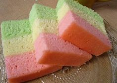 Resep Bolu Kukus Pelangi Lembut Dan Tips Cara Membuatnya Zoe Cake, Cake Roll Recipes, Resep Cake, Asian Cake, Steamed Cake, Traditional Cakes, Asian Desserts, Brownie Cake, Sweet Tarts