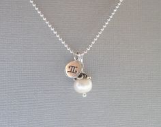 Gemini Necklace Gemini Zodiac Necklace Sterling by piccreations