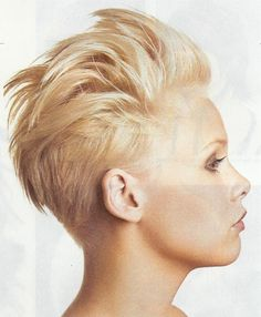 edgy short hairstyles - Google Search