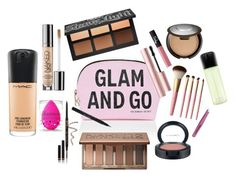 """""""What's in my makeup bag!"""" by emmypaigebailey on Polyvore"""