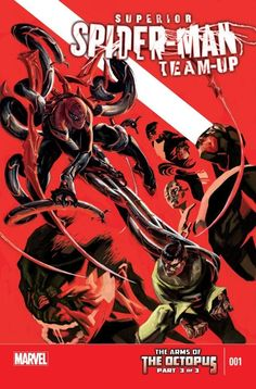 Superior Spider-Man Team-Up Special #1  THE ARMS OF THE OCTOPUS PART 3.  Which villains have joined forces with Doctor Octopus and Abomination? And which villains have pitted themselves against the super-villains? It's no easy feat to take down the baddies, especially when the heroes are uncertain of where allegiances truly lie!
