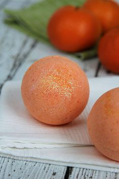 Orange Crush Bath Bombs - DIY recipe