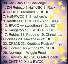 Join us for the 30 day baby wearing challenge! Try a different carry everyday!