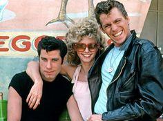 John Travolta as Danny Zuko, Olivia Newton-John as Sandy Olsson, and Jeff Conaway as Kenickie in Grease, 1978 Grease 1978, Grease Movie, Grease Play, Grease 2016, Film Scene, Jeff Conaway, Movie Stars, Classic Hollywood, Movie Quotes