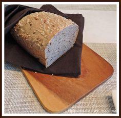 Helmenvalkoinen maailma: Tattarivuokaleipä (G, M, L) - pehmeä ja muhkea resepti