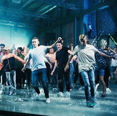 Behind scenes of making the music video DANCE WITH YOU