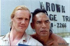 Duncan Heyward and Magua