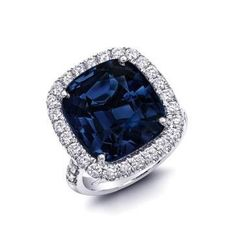 Blue spinel ring from Coast Diamond