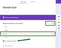 technology rocks. seriously.: Quizzes in Google FORMS? HOORAY!