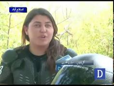 Motorcyclist girl journey to KPK