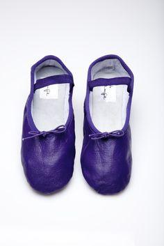 Eggplant Ballet Shoe   Ballet Shoes for Women and Kids   Linge Shoes
