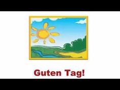 The aim of this German Course is to provide simple and enjoyable exercises for Young German Learners. German Language Learning, World Languages, Learn German, Getting To Know You, Youtube, Teaching, How To Plan, Education, School