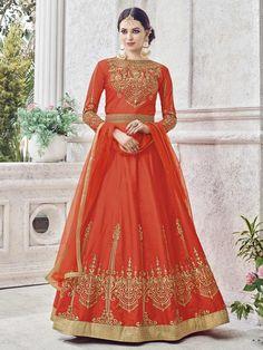 Looking to buy Anarkali online? ✓ Buy the latest designer Anarkali suits at Lashkaraa, with a variety of long Anarkali suits, party wear & Anarkali dresses! Trajes Anarkali, Robe Anarkali, Costumes Anarkali, Silk Anarkali Suits, Anarkali Churidar, Saree, Lehenga Choli, Salwar Suits, Punjabi Fashion