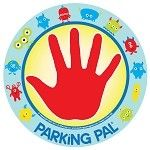 Parking pal magnet for your car. Keep older sib safe with their hand on a safe spot of the car while you help get the other kid(s) out of the car.