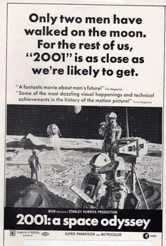 Vintage ad for 2001